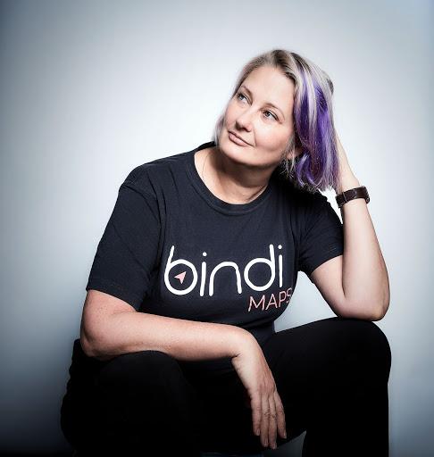 BindiMaps cofounder, Anna Wright